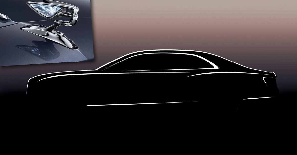 Bentley's New Flying Spur Has A Pop-Up, Crystal-Inlaid  Flying B