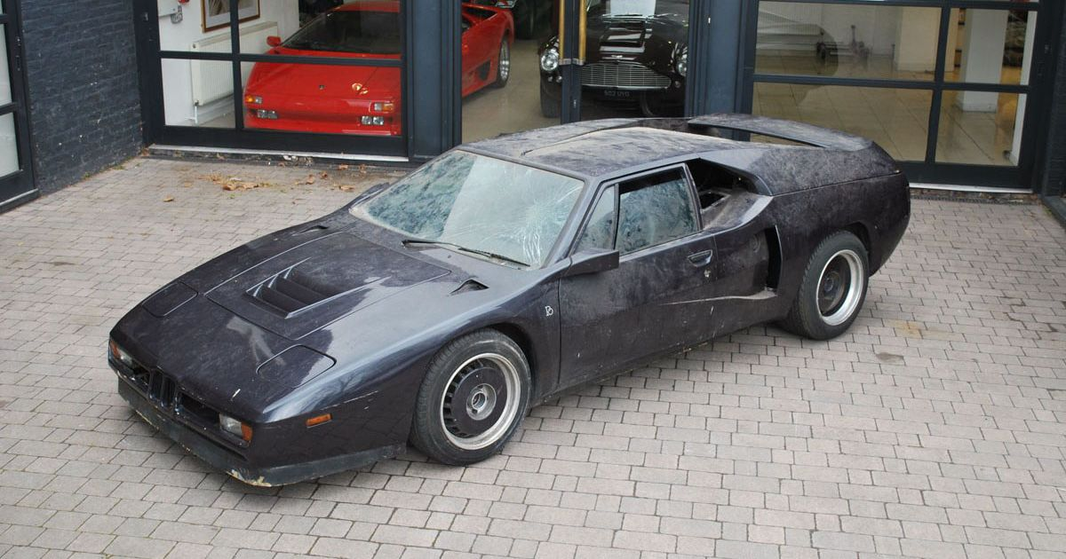 BMW M1 For Sale >> A Unique Lost Bmw M1 Speed Record Car Is Up For Sale