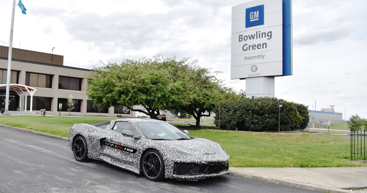 Mid-Engined Corvette Production Will Add 400 Jobs At GM s Bowling Green Plant