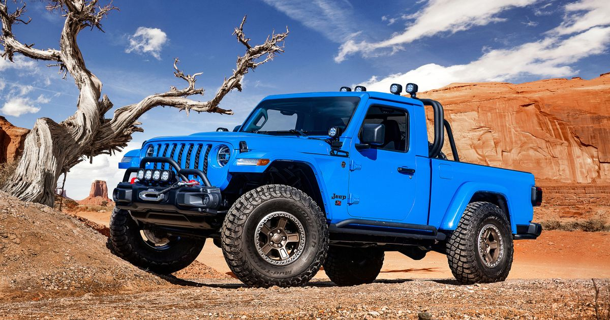 Check Out These Six Awesome New Jeep Gladiator Concepts