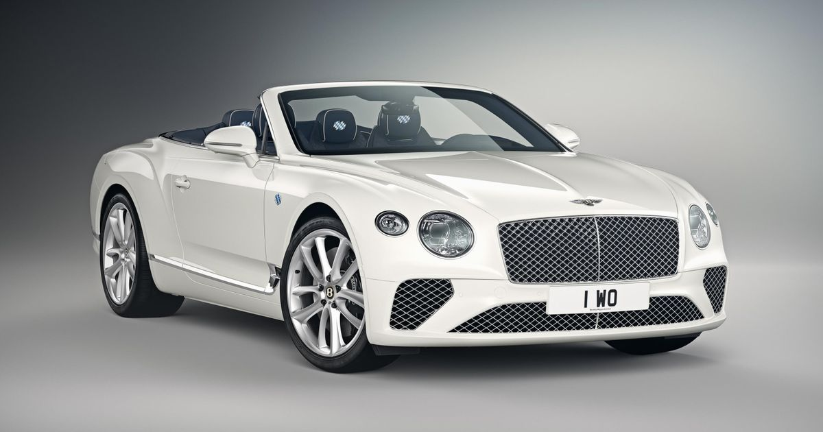 This New Bentley Continental GT Celebrates Bavaria For Some Reason