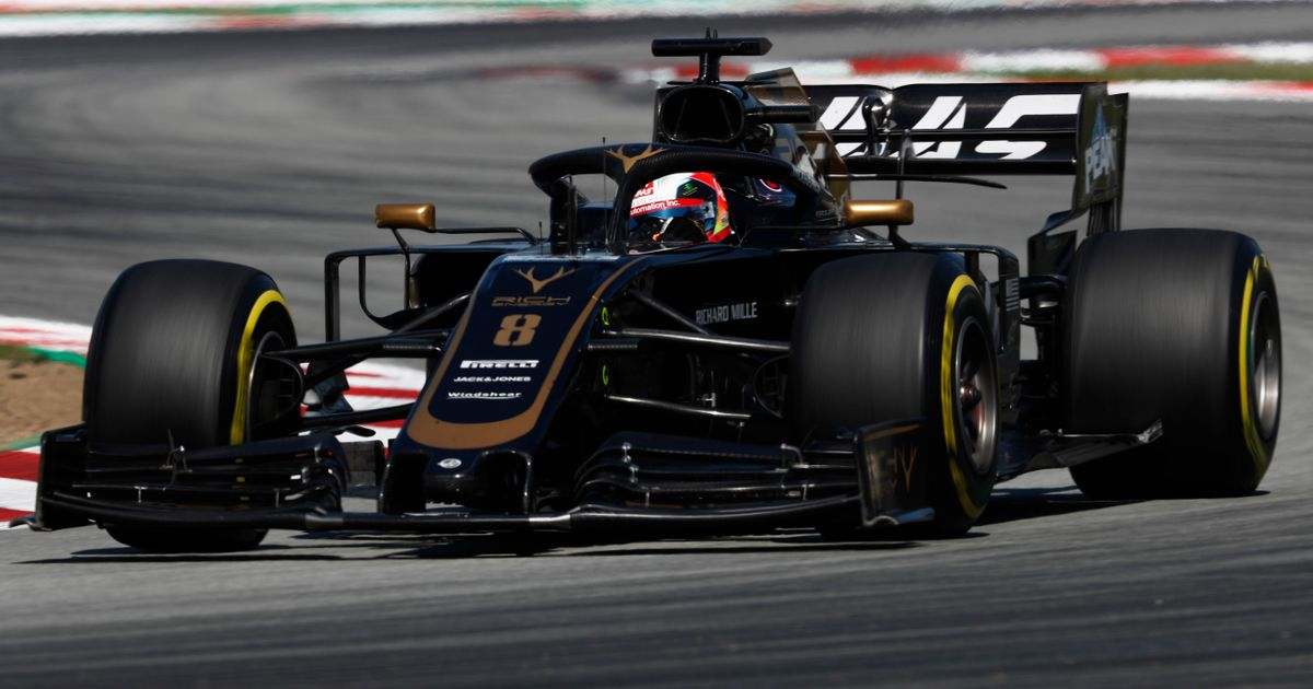 Grosjean Says His Fight With Magnussen In Spain Could Cause Haas To 'Eat Balls'