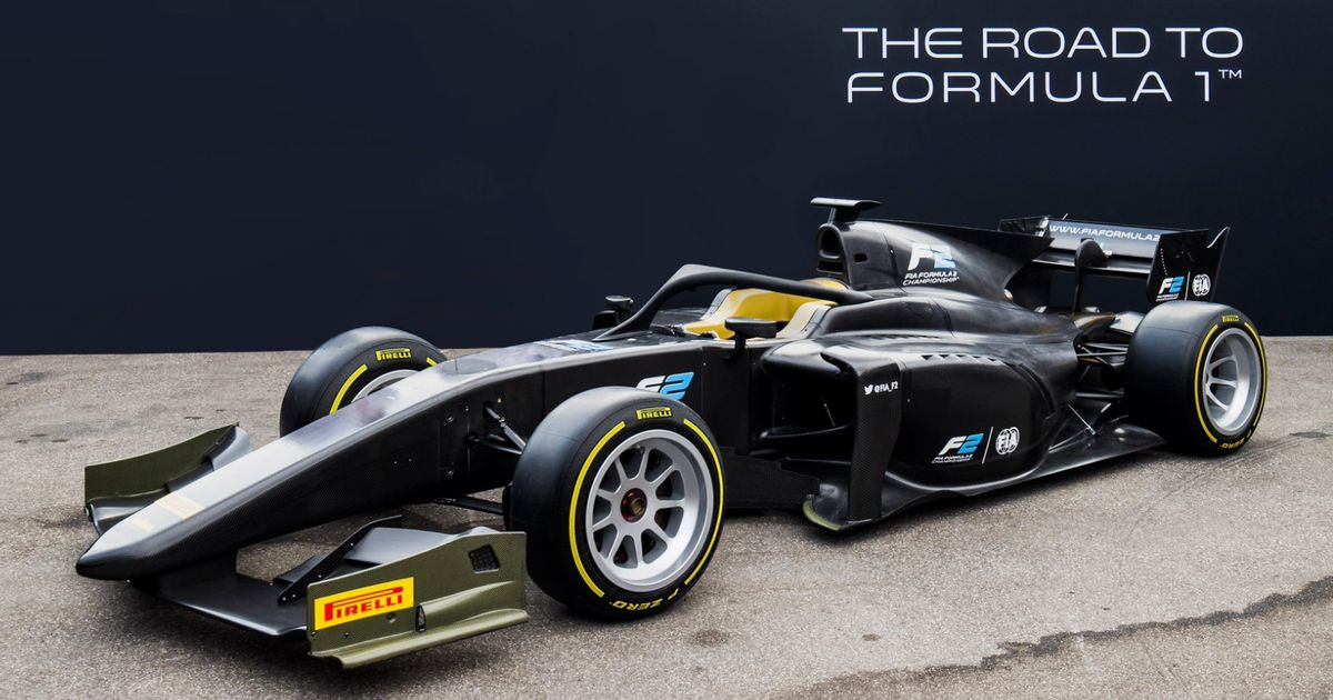 Formula 2 Cars Will Have 18-Inch Rims Next Year And They Look Superb