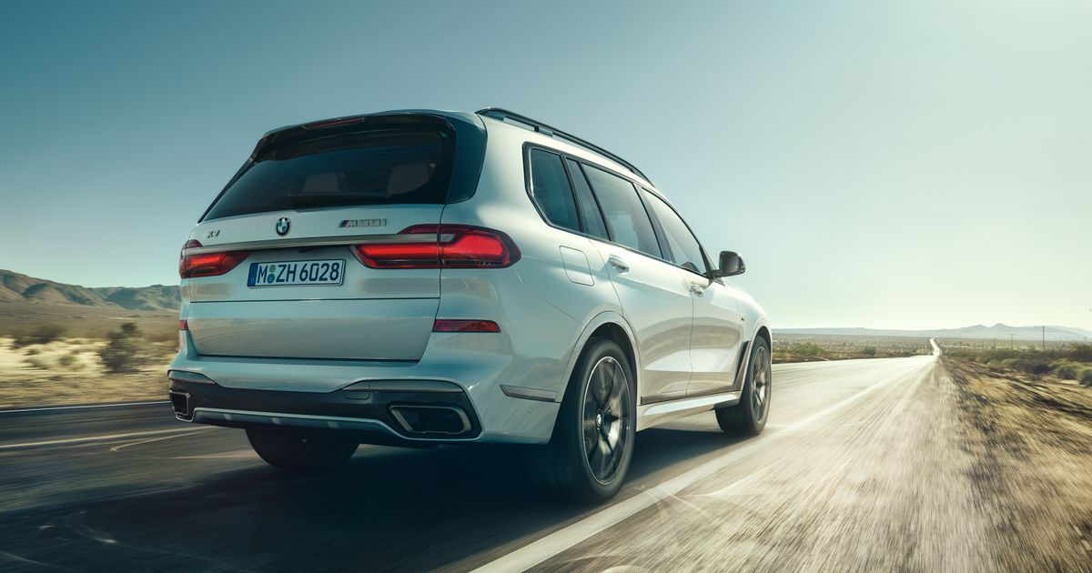BMW Has Launched 523bhp Versions Of The X5 And X7 SUVs