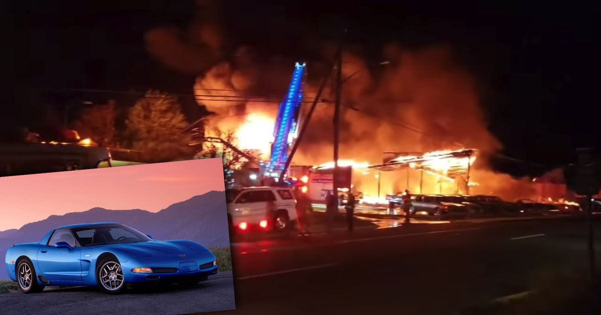 50 'Vintage' Cars Destroyed By Fire At New York TV Set