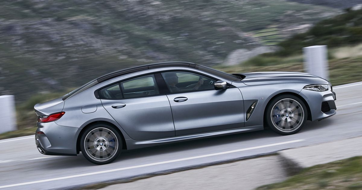 The BMW 8-Series Gran Coupe Is Officially Here, And It's Huge