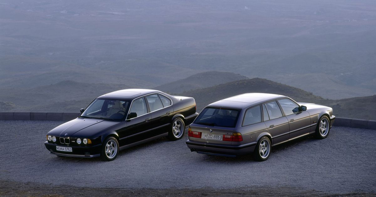 A BMW M5 Wagon Was Used To Test The McLaren F1's V12
