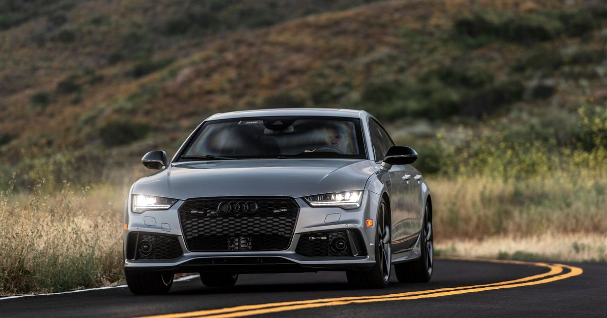 This 202mph Audi RS7 Saloon Is The World's Fastest Armoured Car
