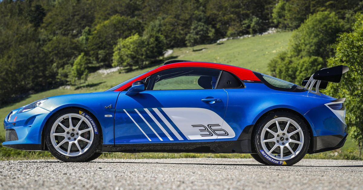 There's Now A £134,000 Rally-Spec Alpine A110 And It's