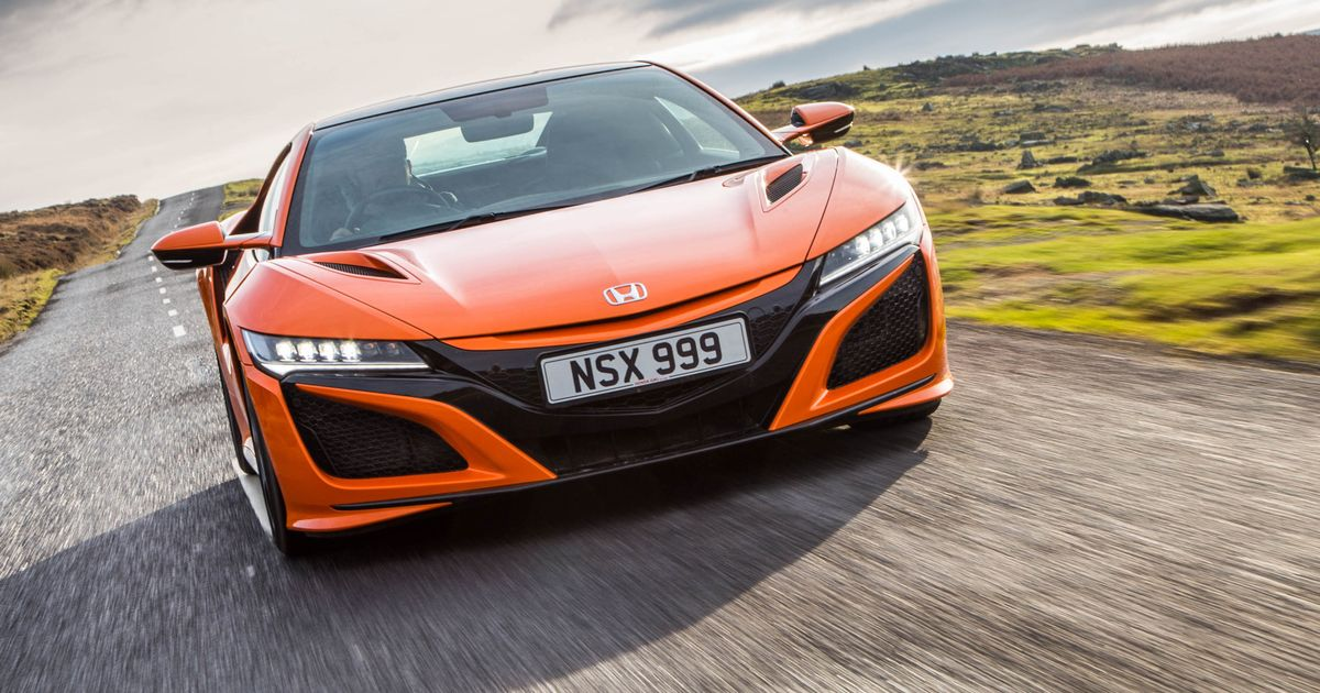 2020 Honda Nsx Review The Supercar For A Future That Never Happened