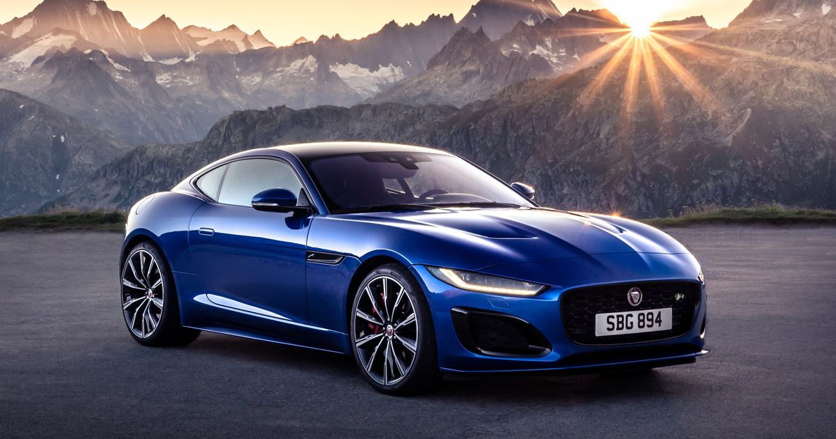 The 2021 Jaguar F-Type Is Here With A New Face But No V6