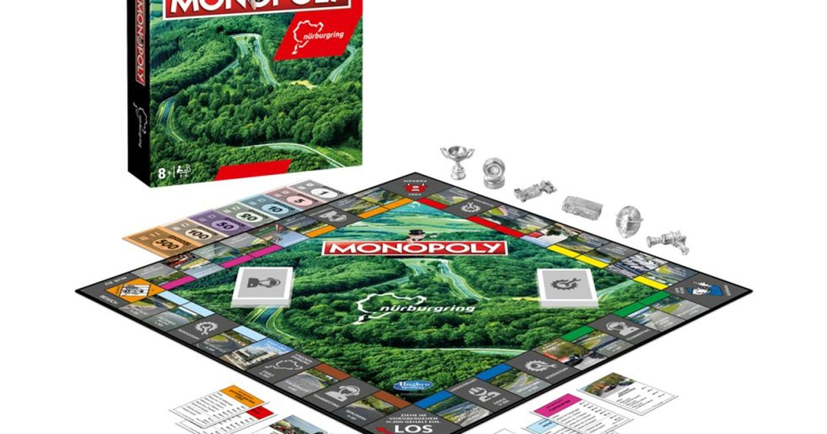 There's Now A Nurburgring-Themed Version Of Monopoly And We Need It Urgently