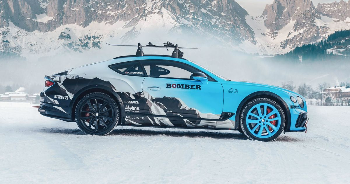 Check Out This Wild Bentley Continental GT Ice Racer