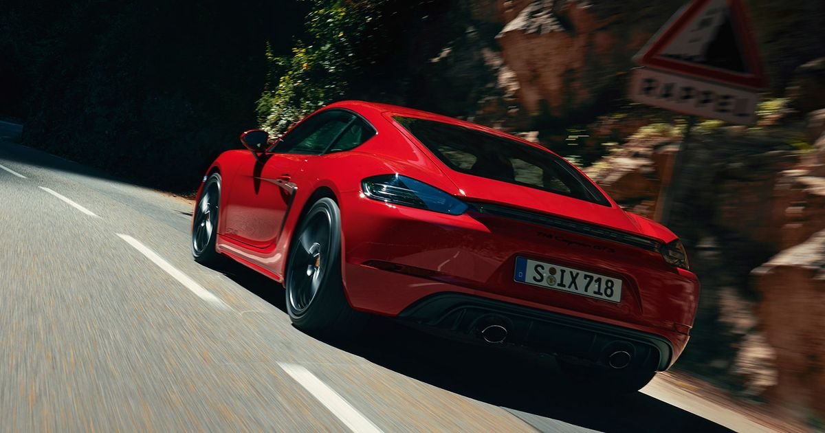 New Porsche 718 Boxster And Cayman GTS Have N/A Flat-Six Power