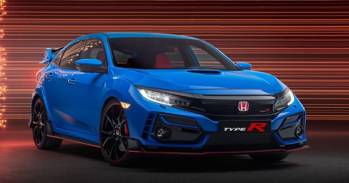 The New Look Honda Civic Type R Has Banished The Fake Front Vents - Car Throttle