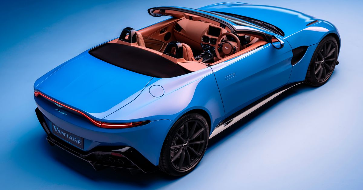 This Is The 503bhp Aston Martin Vantage Roadster