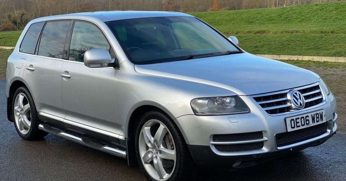Are You Brave Enough For This 6000 Vw Touareg V10 Tdi