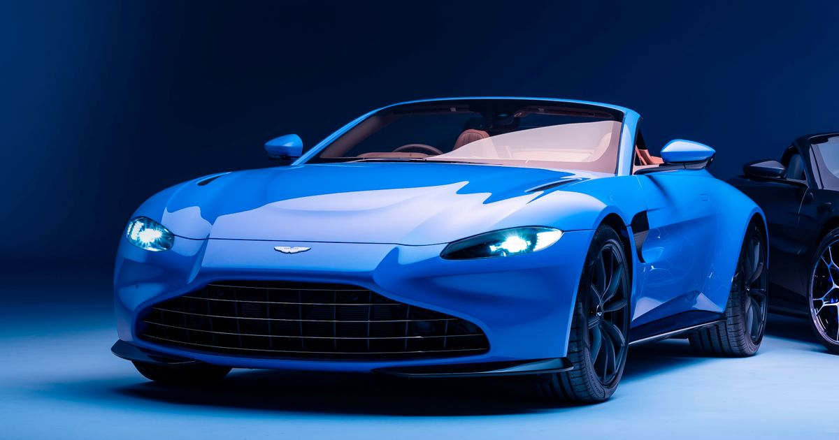 The 503bhp Aston Martin Vantage Roadster Is Here With A New Face