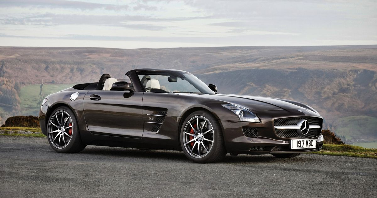 The Mercedes SLS AMG Roadster Was The Most Disappointing Performance Car I've Driven