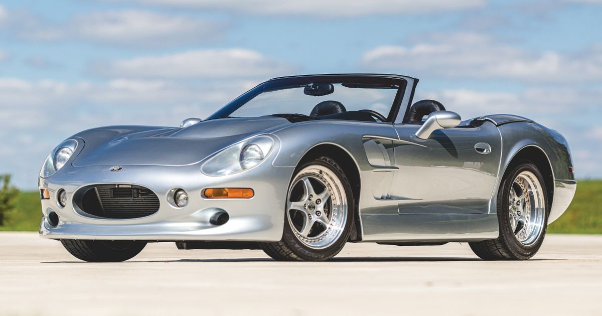 Your Chance To Own A Shelby Series 1 - Carroll s Pretty But Troubled Sports Car