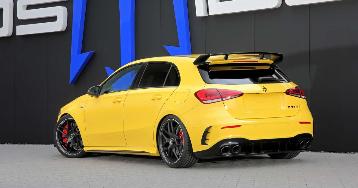 This 518bhp Mercedes-AMG A45  RS  Will Do 201mph