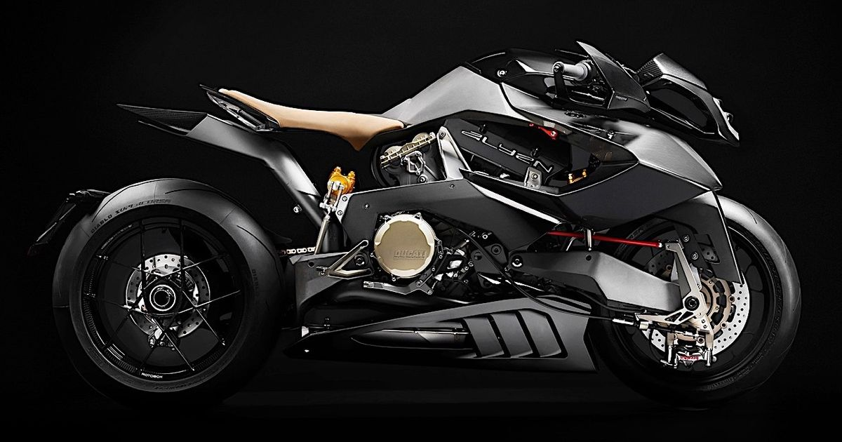 The Ducati-Powered Vyrus Alyen 988 Just Rode In From A Dystopian Sci-Fi Film