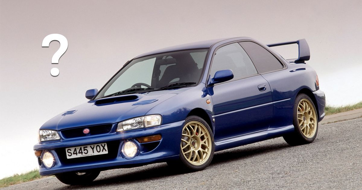 The Ultimate Limited-Edition Subaru WRX And STI Quiz