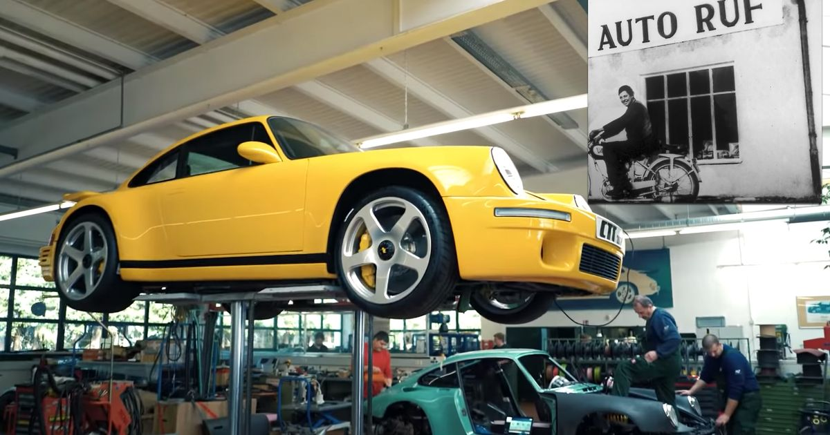 How Ruf Went From Small Repair Shop To Performance Car Royalty