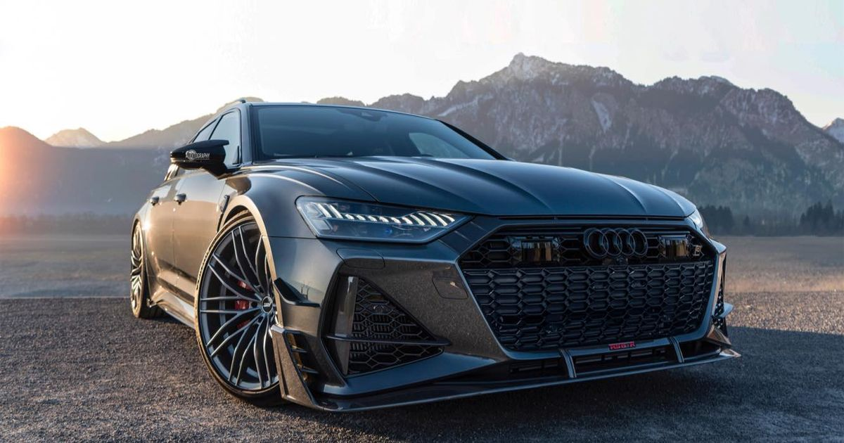The Abt RS6-R Accelerates To 62mph As Fast As A McLaren 570S