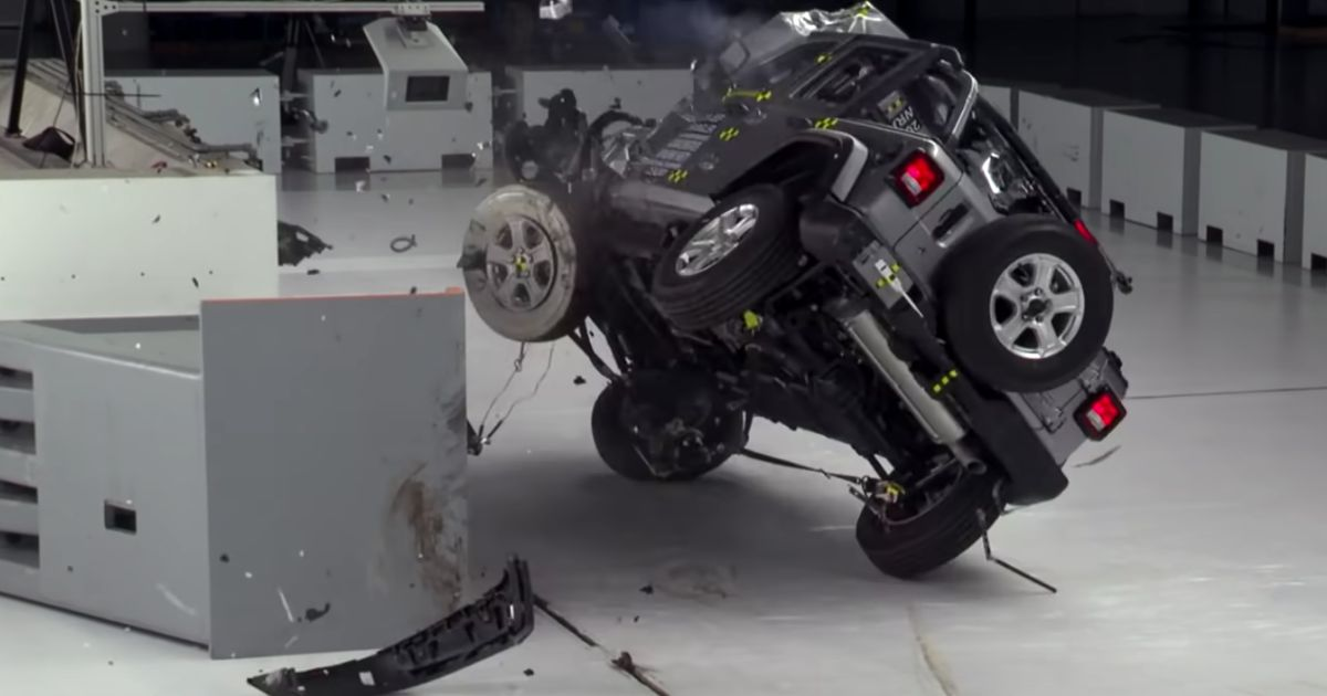 Jeep Wrangler  Changes  Being Worked On Following Crash Test Roll