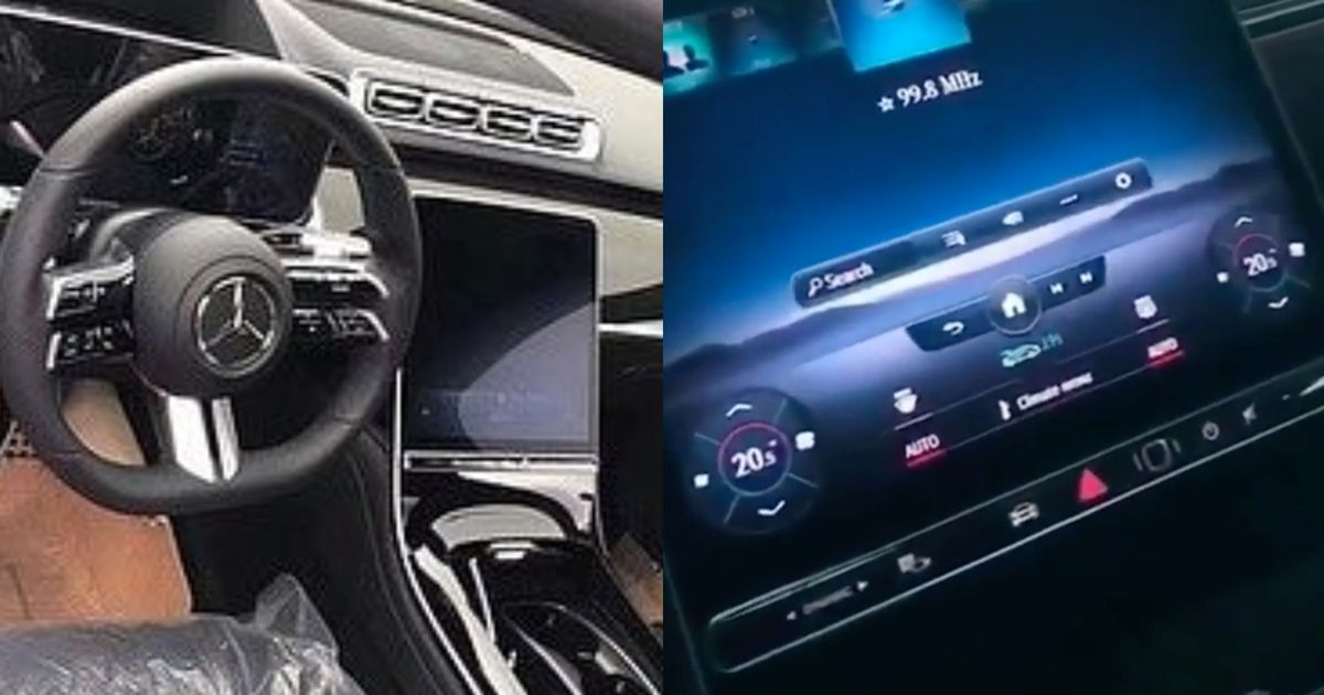 Take A Closer Look At The New Mercedes S-Class  Giant Screen