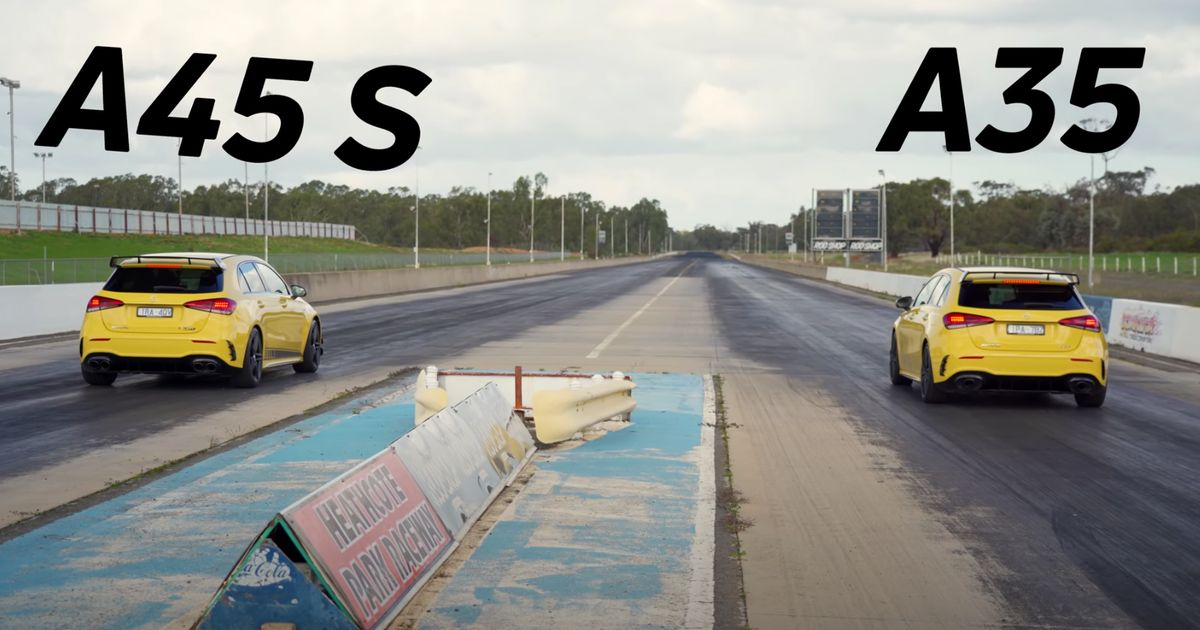 Mercedes-AMG A35 Vs A45 S Drag Race: How Much Speed Does £15k Buy You?