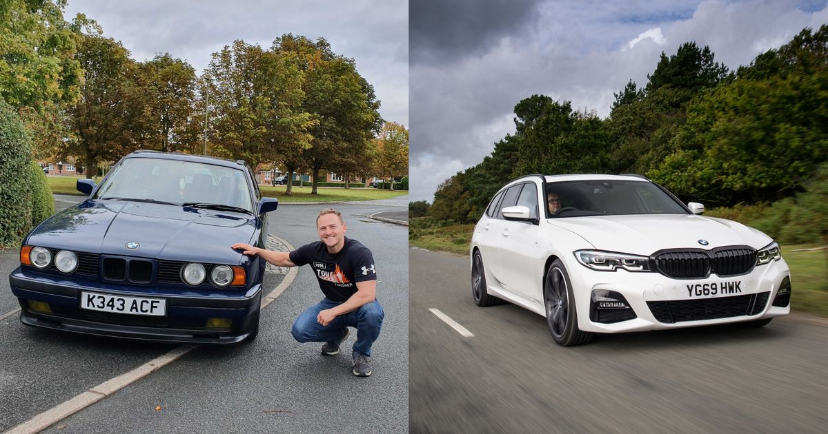 It Turns Out The New BMW 3-Series Is The Same Size As My E34 525i