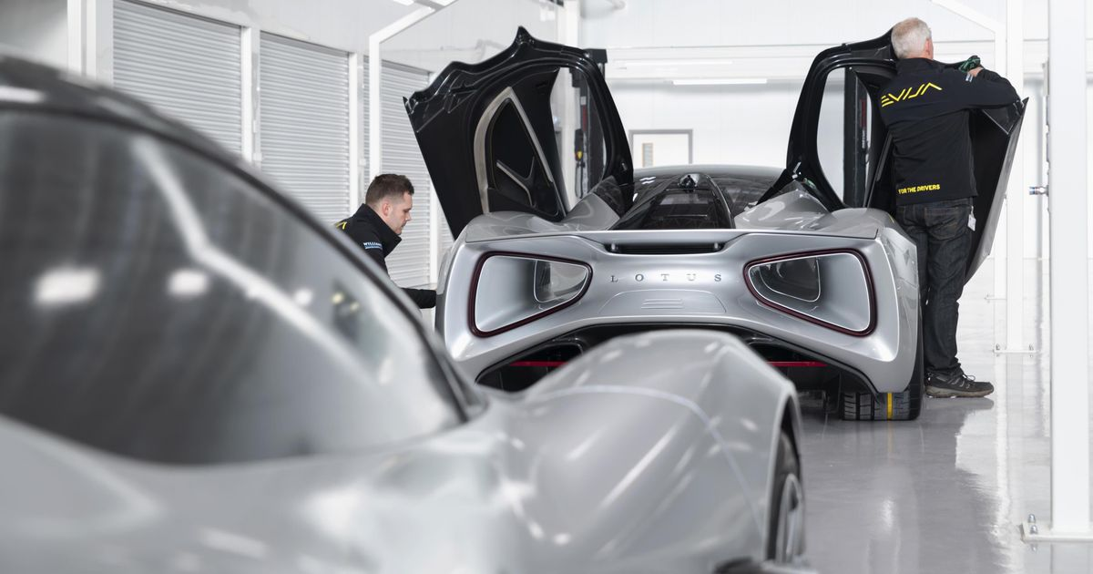 Lotus  Aero Chief On The Evija, The Dacia Duster And Making Holes In Hypercars