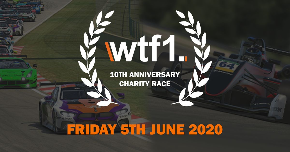 We're Celebrating Our 10th Anniversary By Giving You The Chance To Race Against Real Racing Drivers