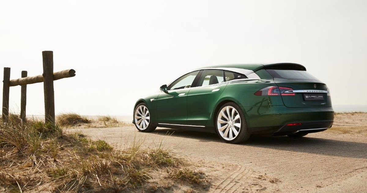 You Can Buy This One-Off Tesla Model S  Shooting Brake  (If You Have £200k Spare)