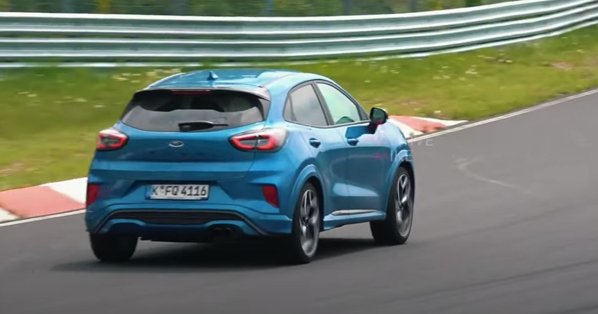 Here s The Ford Puma ST Making Throaty Three-Pot Noises At The  Ring