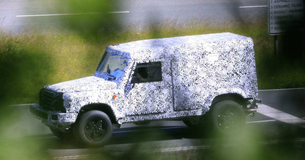 The BMW-Powered Ineos  Defender Successor  Has Been Spied