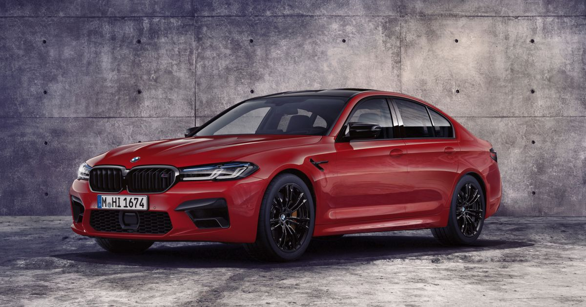 The Refreshed BMW M5 Competition Has M8 Tech And Bigger Kidneys