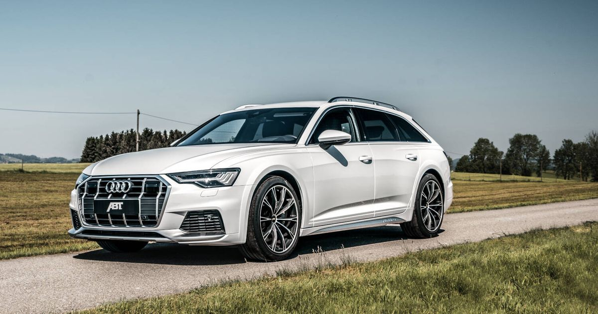 Abt s 400bhp Audi A6 Allroad Is The Fast Wagon You Never Knew You Wanted