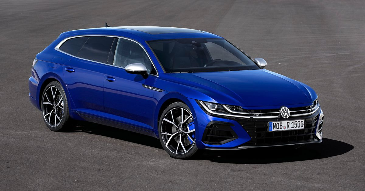 The 316bhp VW Arteon R Is Here And You Can Have It As A  Shooting Brake  Wagon