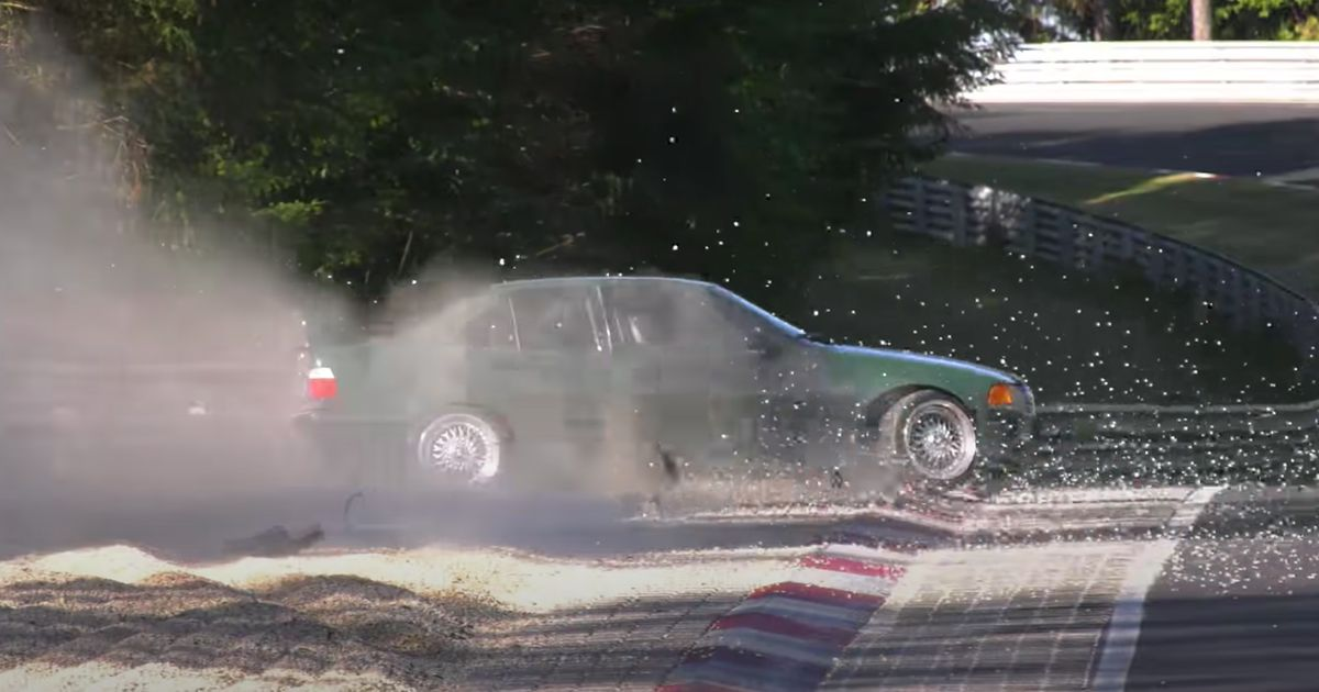 Prepare For 12 Minutes Of Buttock-Clenching Nurburgring Near-Misses And Prangs