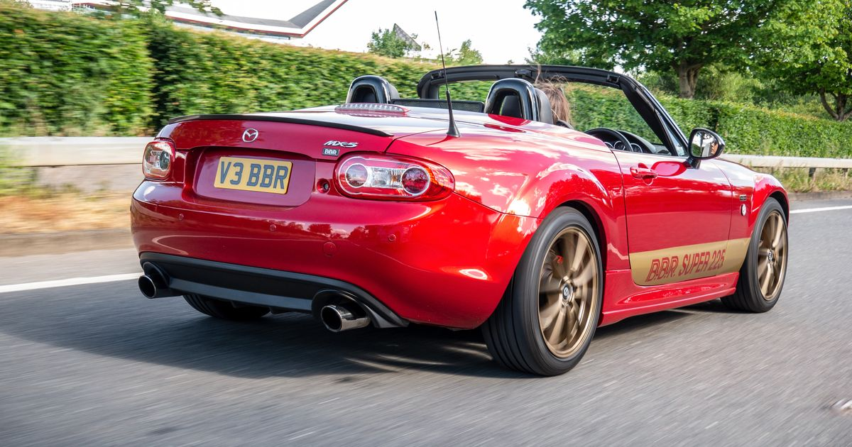BBR s No-Turbo Super 225 Package Gives The NC Mazda MX-5 224bhp