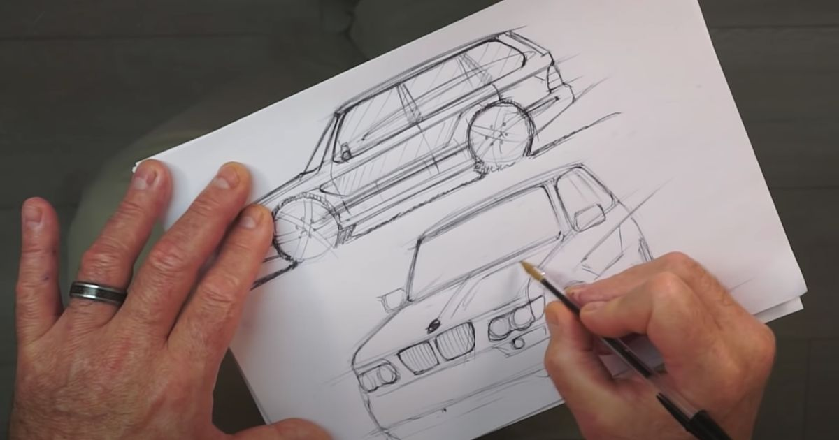 The Original BMW X5 s Initial Design Was Sketched In Two Hours On A Flight