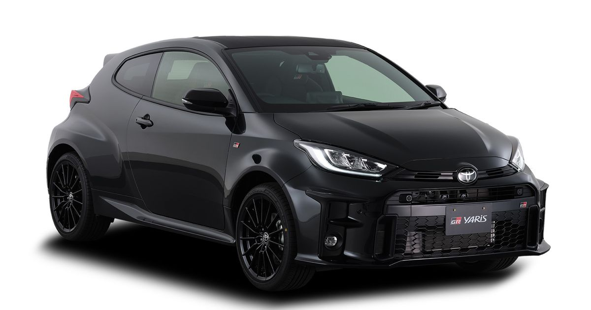 JDM Toyota GR Yaris Range Includes 118bhp CVT Version And Pared-Back  RC