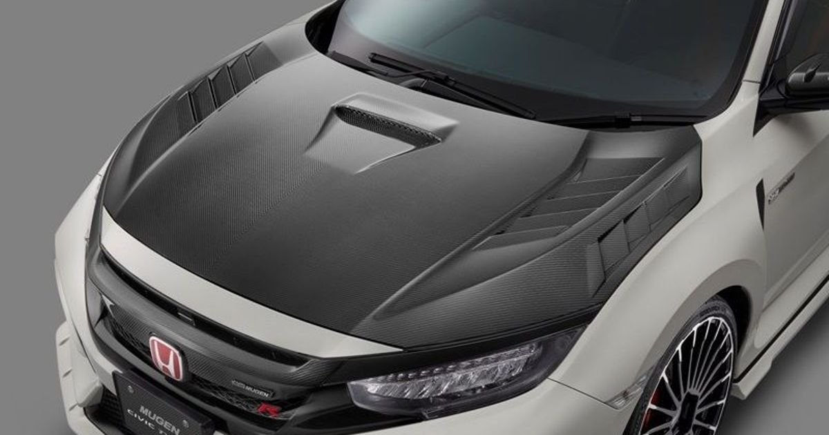 You Can Buy A £12,000 Carbon Mugen Bonnet For The FK8 Honda Civic Type R