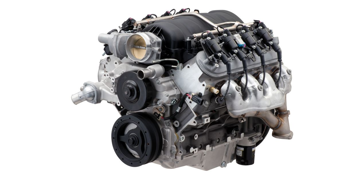 Chevrolet Has A New 562bhp LS7-Based Crate Engine