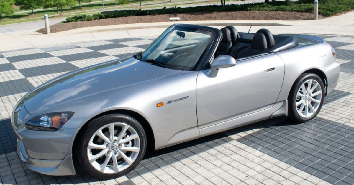 A 1000-Mile Honda S2000 Just Sold For Over $50,000