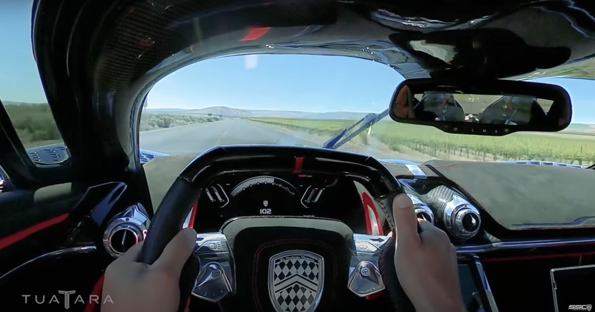 Watch The SSC Tuatara Sprint From 60-120mph In 2.5 Seconds