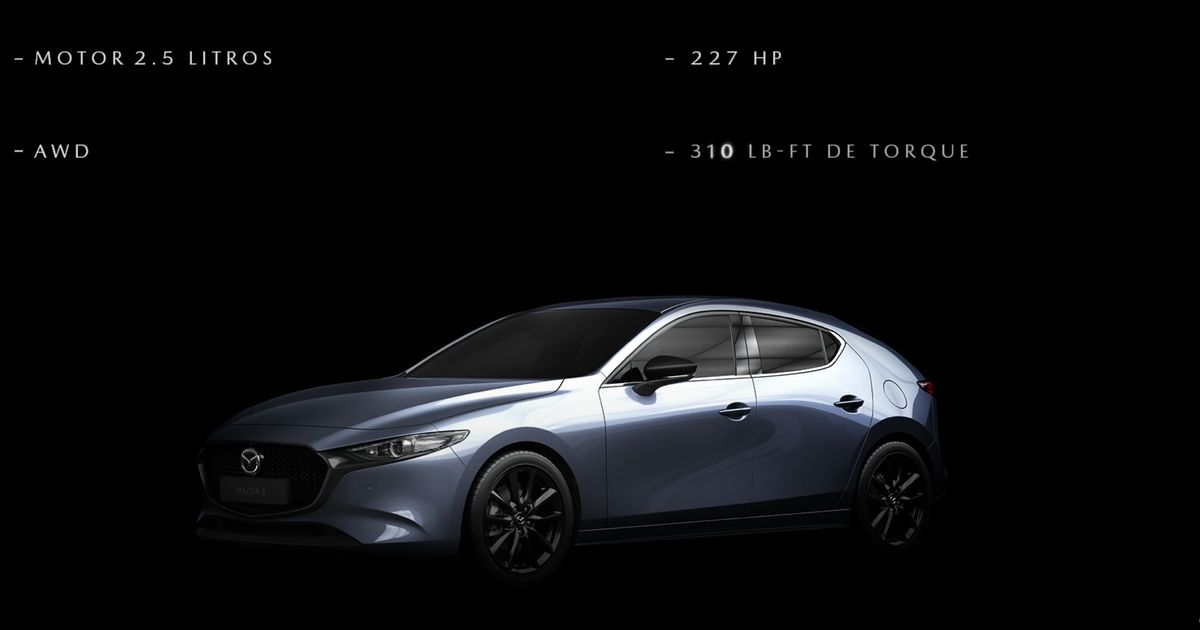 2.5 Turbo Mazda 3 Confirmed With 224bhp And 310Lb Ft